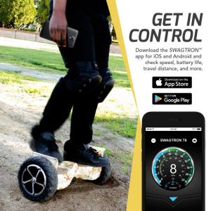SWAGTRON T6 app for iOS & Android