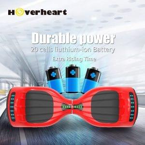 Hoverheart Hoverboard with 20 cells Lithium-ion battery