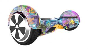 GOTRAX Hoverfly ECO Hoverboard in Galaxy Design