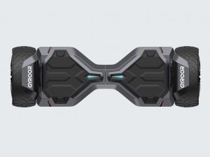 Gyroor Warrior Hoverboard seen from above